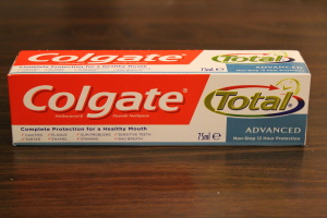 Toothpaste Review: Colgate Total Advanced