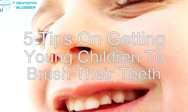 5 tips on getting young children to brush their teeth