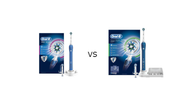 Oral-B 3000 vs 4000 Electric Toothbrush Review