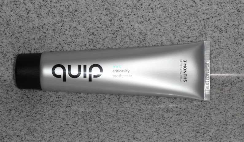 Quip Toothpaste Review Dentist